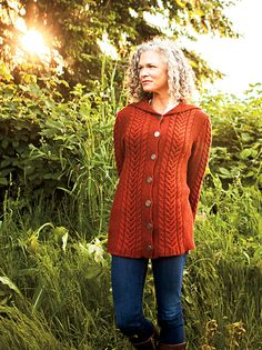 Ravelry: Oslavia Sweater Coat pattern by Cristina Ghirlanda