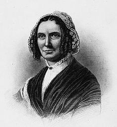 Abigail Fillmore, American First Lady married to President Millard Fillmore. She is the first of the First Ladies to hold a job after marriage and the first to have been raised in poverty.  At the time of her marriage, her husband was a struggling lawyer.  After becoming First Lady, she championed to have a library built in the White House.  Once Congress approved the library, Mrs. Fillmore championed to have indoor plumbing installed at the White House.