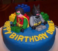 Batman Lego Birthday Cakes Party