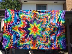 Dharma Trading Co. Featured Artist: Angelina & Chris Benjamin- Tie Dye Tapestries