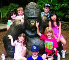Give the adventure of lifelong learning: gift certificates for Family NightCrawlers, one-day Safari Day Camps, Wild Encounters or Keeper for a Day.