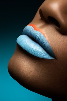 #blue #lips #beach #holiday #makeup - MyBeautyCompare Pinterest #summer #hair #sun #face #bbloggers #beauty #sexy #chic #glam