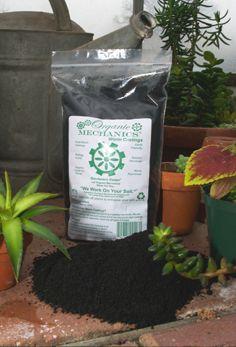 Organic Mechanics - make your own worm castings tea.