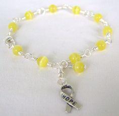Spina Bifida Awareness Bracelet