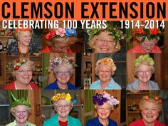 Happy National Make a Hat Day! We're celebrating with Amanda McNulty, host of Making it Grow! and maker of fabulous hats. #ClemsonExt100