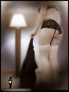 theteasingteacher:    Fantasy Series. ©TheTeasingTeacher  Striptease' dream on.