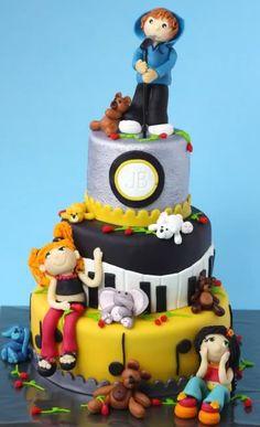 Justin Bieber & fans cake