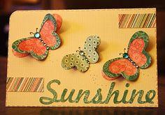 ScrapbookPal.com: Sunshine using Cricut April Showers cartridge