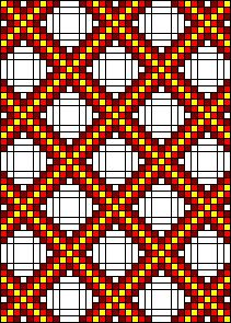 Instructions for single, double and triple Irish Chain Quilts