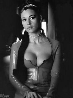 Monica Bellucci heaving bosom