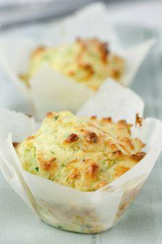 Cheesy Corn and Zucchini Muffins Recipe