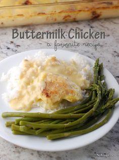 baked buttermilk chicken #recipe - NoBiggie.net