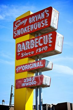 This is the most famous of the BBQ places in Dallas. (I don't like BBQ)