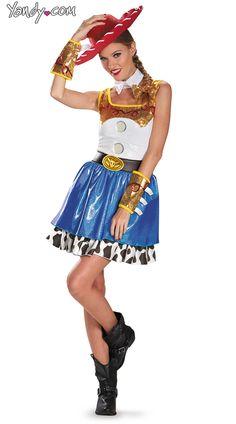 halloween idea, jessi costum, halloween costumes, adult costumes, toy stori