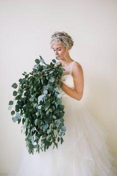 Seeded eucalyptus #bouquet.   Photography: Jaimee Morse - www.jaimeemorse.com