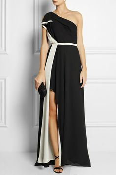 greek dress, satin gown