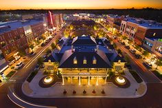 Market Street in The Woodlands, Texas - Where we live!