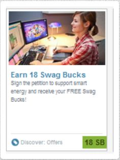#ezOFFER Offer Name: We Stand For Energy Offer Wall: Revenue Universe Offer Value: 18 #swagbucks Special Instructions: Complete #ezaspirin first in #Firefox. Use new email address. Complete first page. Credits instantly. #GoodLuck #ezswag