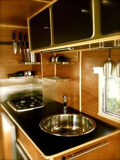 a modern update to a vintage trailer