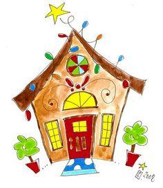 New Christmas Watercolors | Devyn Larson Designs