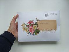 a flower envelope