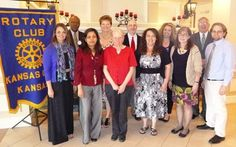 The Kansas City, Kan., Rotary Club, at its May 7 luncheon, recognized outstanding teachers from each of Wyandotte County's nine high schools. more »