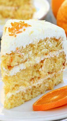 Easy Pineapple Orange Layer Cake Recipe