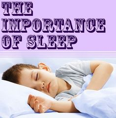 Research shows the importance of sleep for children's health, academic performance and behavior. Our #LearningToolkit blog has 6 tips for helping kids get the right amount of sleep. Click for details.