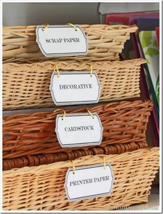 Organizing Drawers | Kitchen | Baskets| InMyOwnStyle