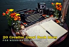 20 Creative Guest Book Ideas For Wedding Reception