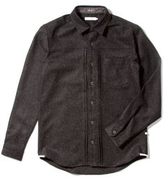 Charcoal Erick Shirt/ deluxe