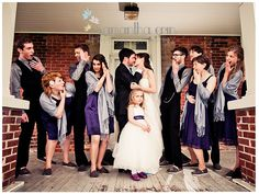 whole wedding party wearing TOMS #shoes  #TOMS  One for One #fashion #style #wedding #bride #bridal