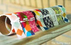 The Gunny Sack: How To Make Your Own Washi Tape Tutorial