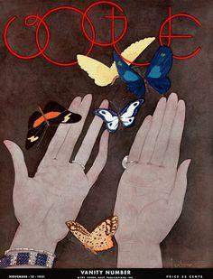 American Vogue, November 1931. Illustration: Georges Lepape.