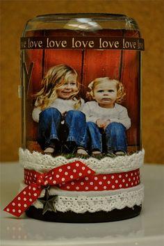 Simply KellyB: Valentines Snow Globes