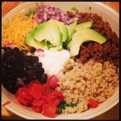 4 tips for rocking Weight Watchers Simple Start (including this rad bowl full o' Mexican)