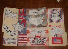 U.S. Symbols lapbook