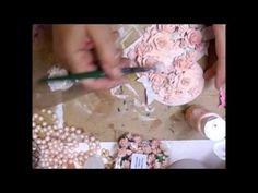 ▶ Mixed Media Shabby Chic Heart Tutorial - jennings644 - YouTube