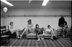 Rolling Stones, Backstage, 1972. © Jim Marshall Photography LLC, Courtesy Steven Kasher Gallery, New York