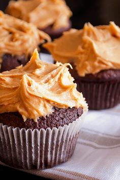 Fluffy Peanut Butter Frosting Recipe ~ Only 4 Ingredients