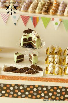 Inspiration » 1:12 Scale Dollhouse Miniature Halloween Food { Hummingbird Miniatures ǀ Flickr }