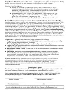Example of a High School Classroom Management Plan