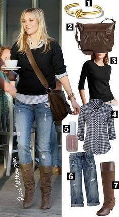 jean, reese witherspoon, fall cloth, fashion, fall looks