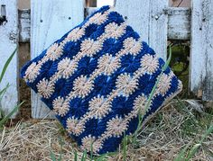 Ebb and Flow Pillow, free pattern by Brian Harrison, just stunning! adore this pin, thanks so for kind share xox