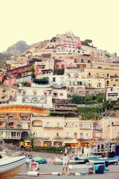 Positano, on the Amalfi Coast, Italy.