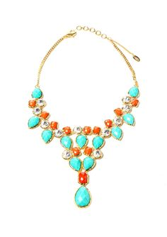 AMRITA SINGH Crystal Dune Necklace