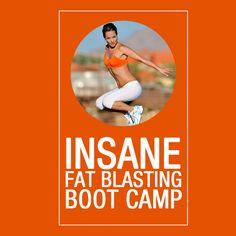 Insane Fat Burning Boot Camp Challenge  #fatburningworkout #workoutchallenges