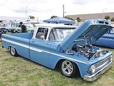 motorcycl, cool cars and trucks, chevi fleetsid, 1964 chevi, sweet chevi