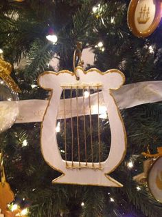 Handmade Chrismon Ornaments...