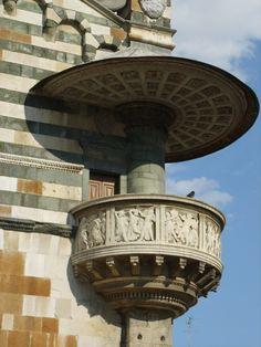 church pulpit, place, prato cathedr